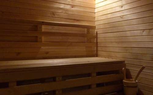 Sauna v chatě Eden