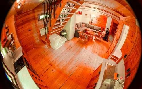 Kuchyně - obývací pokoj