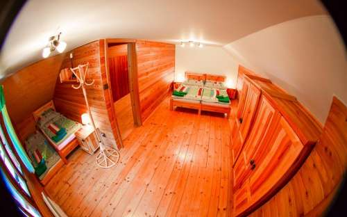 Podkrovní pokoje
