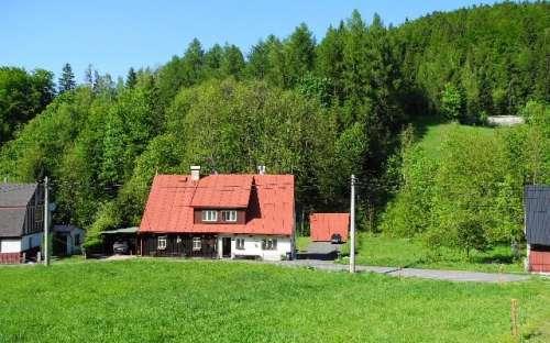 Chalupa Hluboký potok, Jizerské hory, Liberecko