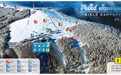 Ski Resort Velká Javorina - White Carpathians