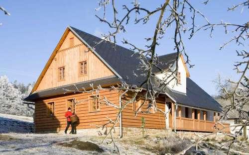 Chalupa Majdalenka - v zimě