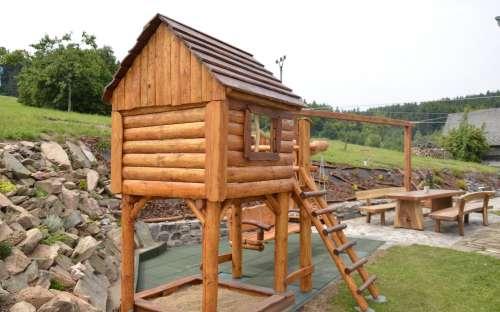 Chalupa Majdalenka - dětské hřiště
