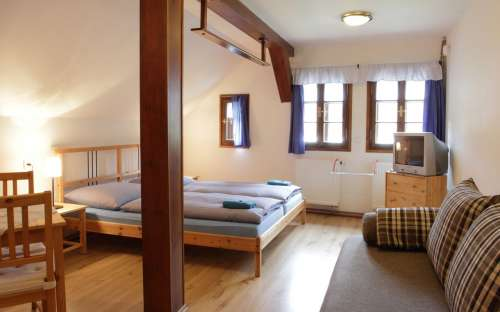 Pokoje v prvním patře