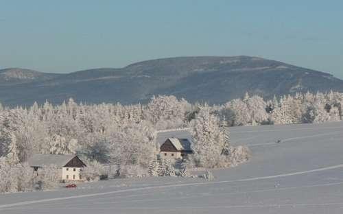 Zima w Petrovice