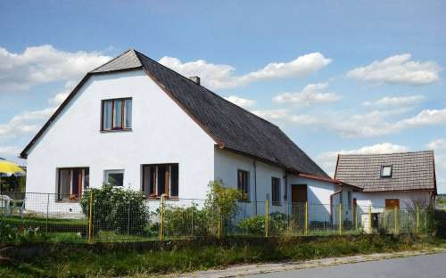 Chalupa s apartmány Na Špici Oudoleň, Vysočina