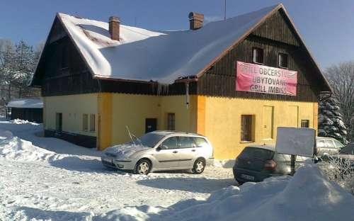 Fjell hytte og restaurant Na Závisti, Pond, Pilsen regionen