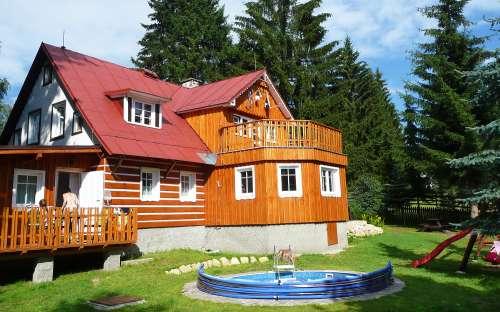 Horská chalupa Pelíšek - ubytování Harrachov, Krkonoše, Liberecký kraj