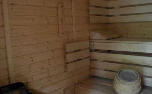 sauna pod čihalkou