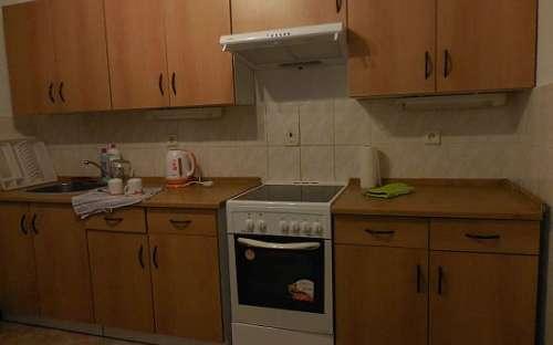 kompletně vybavená kuchyně chaty