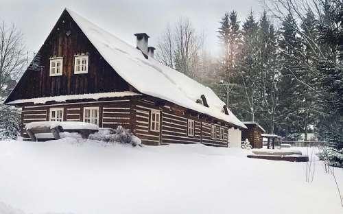 Chalupa pod Kopřivnou, ubytování pod Pradědem, Ski areál Kopřivná