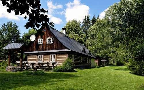 Domek w Jesionikach, Morawy - Śląsk