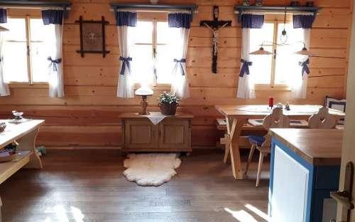 CottagePomněnka-部屋の入り口からの眺め