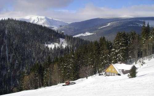 Studnice montagne en hiver
