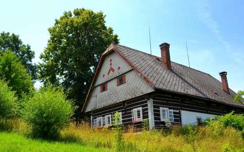 Romantisk sommerhus i Giant Mountains, i Liberec