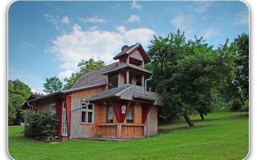 Cottage 2 nella fattoria di Šťástky in Šumava
