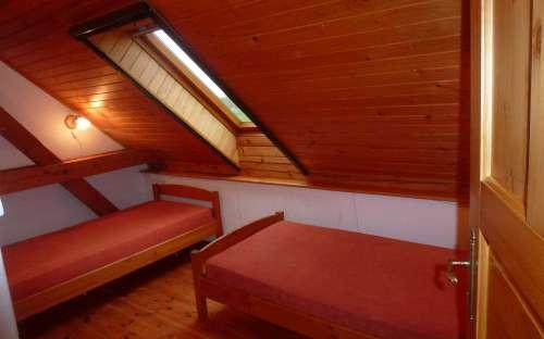 2 lůžkový pokoj v podkroví