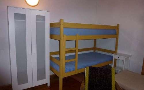 4 lůžkový pokoj v podkroví