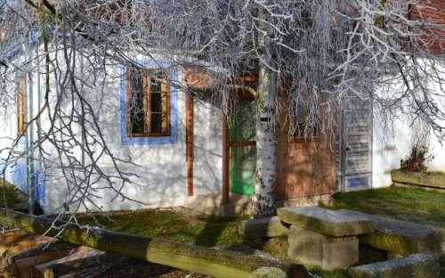 U Kamenného stolu - Velký apartmán-Vchod do verandy