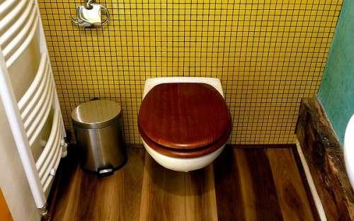 Velký apartmán - žlutý pokoj - koupelna