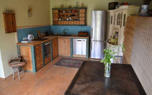 Apartmán Ubytování ve dvoře - Kuchyně