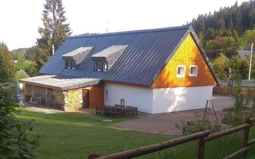 Chalupa U Trompetra, ubytování Bedřichov, Jizerské hory, Liberecký kraj