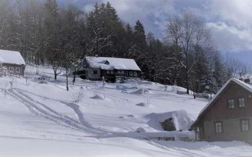 Chalupa v Desné, pronájem chaty Jizerské hory, Liberecký kraj