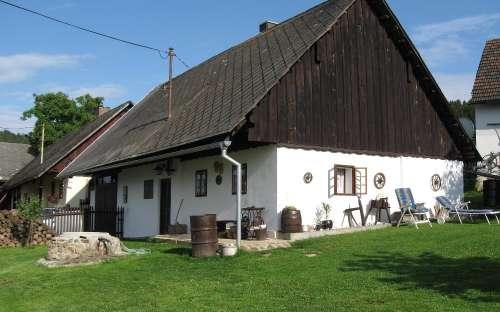 Chalupa v Podzámčí - Český les