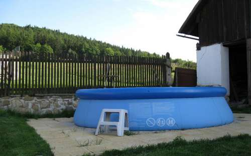 Chalupa v Podzámčí - bazén