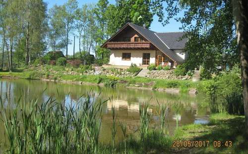 Chalupa v Českém Švýcarsku