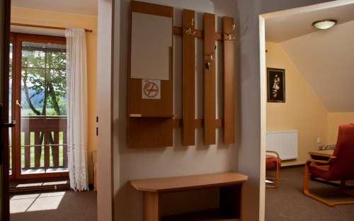 apartmány z chodby