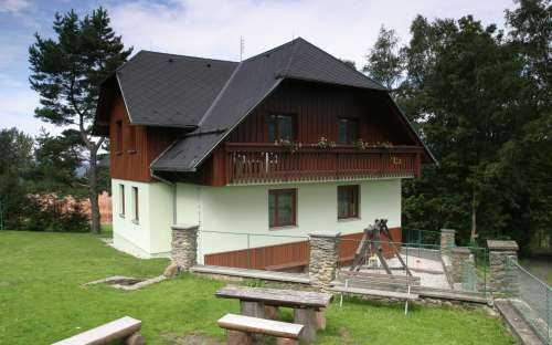 apartmány Šumava v létě