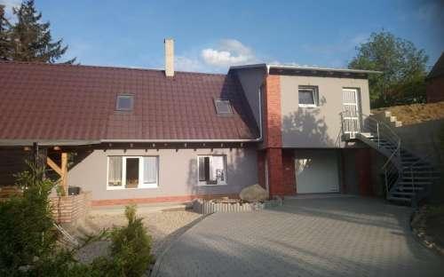 南モラヴィアのコテージAnča、村Němčičky、
