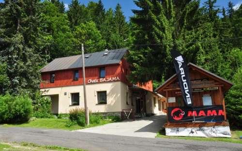 Horská chata Bajama, ubytování Bedřichov, Jizerské hory, Liberecko