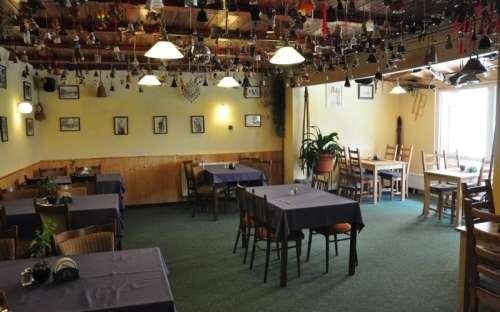 Restaurace na chatě