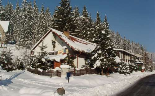 Cottage Barborka, mountain accommodation Beskydy, Zlin region