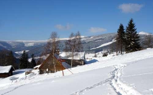 Bjerghus med lejligheder i Giant Mountains, Velka Upa, Pec pod Snezkou
