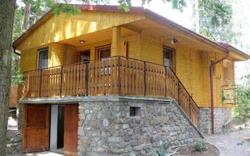 Chata Cep - ubytování Bor, Jihočesko, Česká Kanada