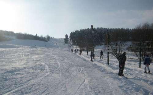 Skiën in de bergen, Boheems-Moravische Hooglanden