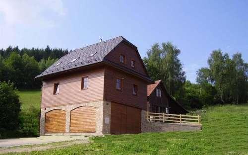 Cottage appartementen Dalecin, accommodatie Skigebied Dalecin, Vysocina