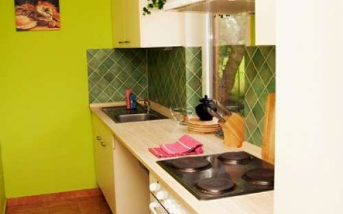 左コテージ - キッチン