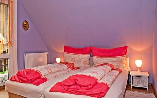 Levá chata - Velká ložnice