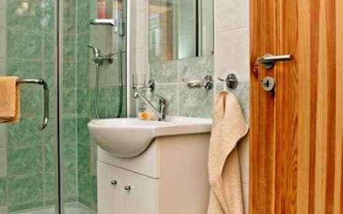 Levá chata - Koupelna