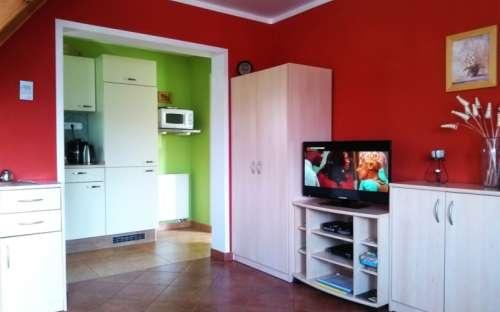 Levá chata - Obývací pokoj