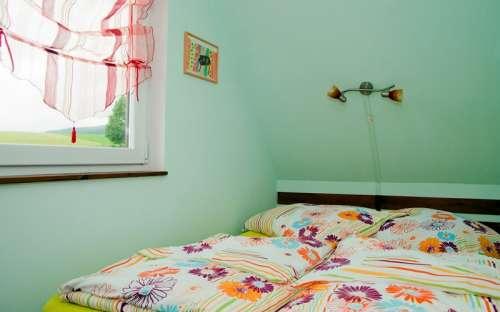Pravá chata - Malá ložnice