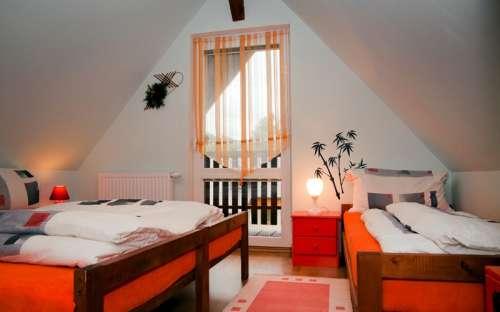 Pravá chata - Velká ložnice