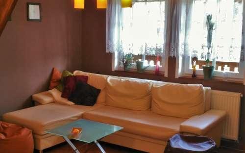 Pravá chata - Obývací pokoj