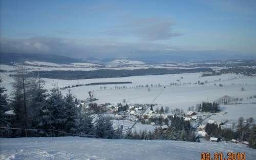 サノフ - スキー場からの眺め