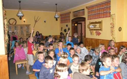 Arrangementer for skoler i Jeseníky Mountains