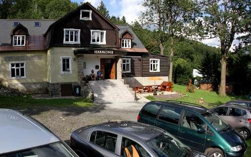 Chata Harmonie Bedrichov, Góry Izerskie, Liberec